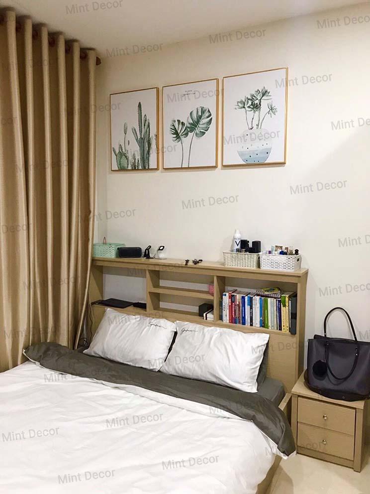 tranh treo tường phòng ngủ đẹp Mint Decor