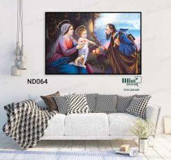 Tranh Canvas Công Giáo 6