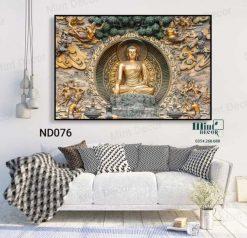tranh Đức Phật khổ lớn