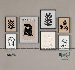 tranh nghệ thuật cut-outs Matisse
