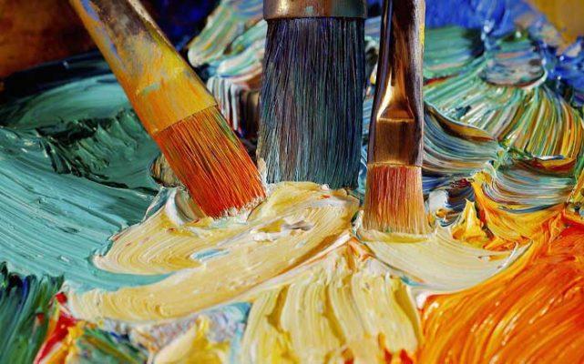 bộ dụng cụ vẽ tranh sơn dầu