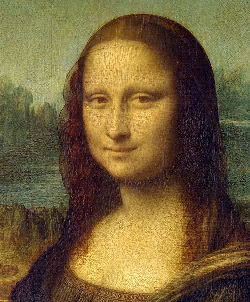 tranh sơn dầu Mona Lisa