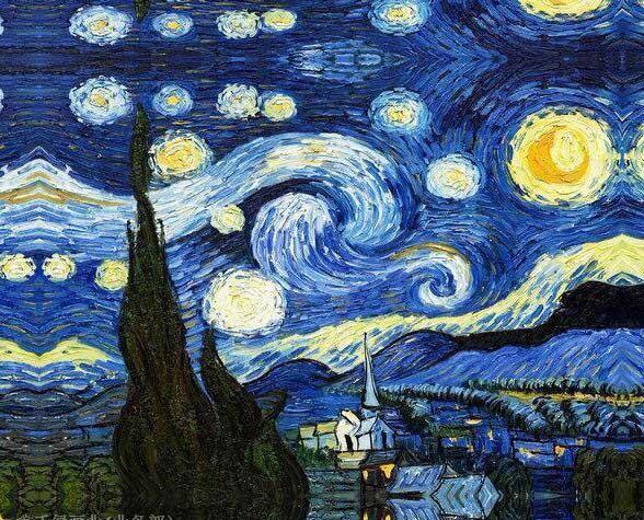 tranh sơn dầu Vincent Van Gogh