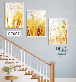 Bộ 3 tranh cầu thang CT007