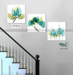 Bộ 3 tranh cầu thang CT012