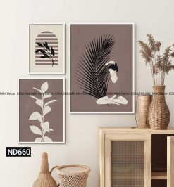 bộ 3 tranh em và thiên nhiên