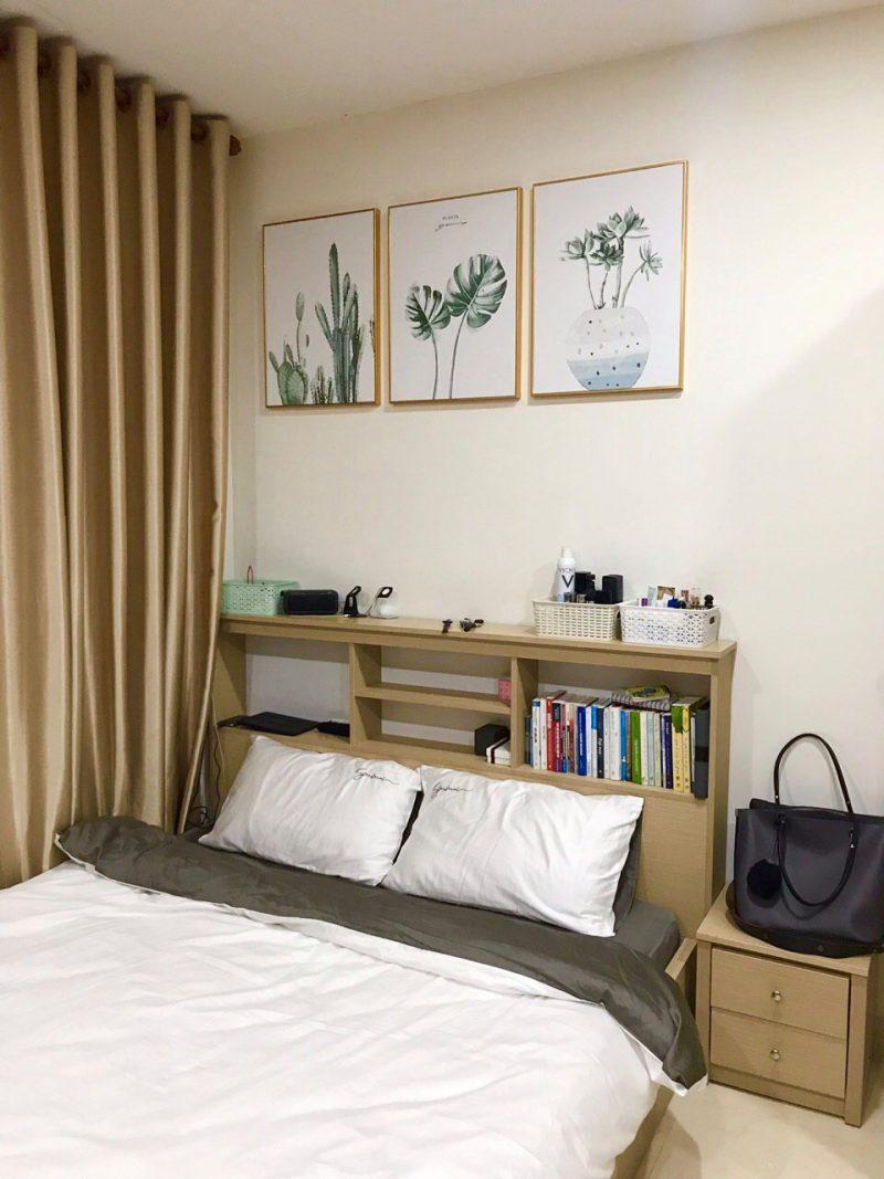Mint decor treo tranh canvas cho khách
