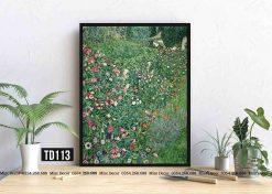 Tranh Gustav Klimt - Italian Garden Landscape