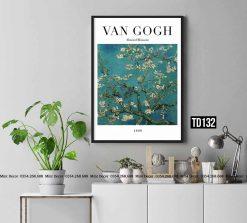 Tranh Van Gogh - Almond Blossom