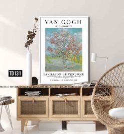 Tranh Van Gogh - Cherry Blossom