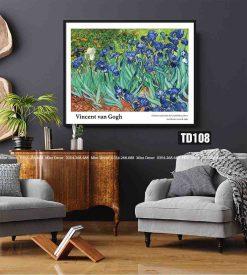 Tranh Van Gogh - Irises