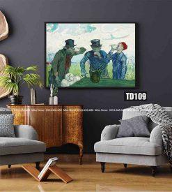 Tranh Van Gogh - The Drinkers