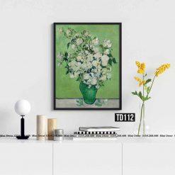 Tranh Van Gogh - Vase of Roses